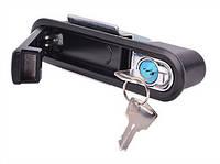 Замок-ручка e.lock.05 с кнопкой открывания, IP54