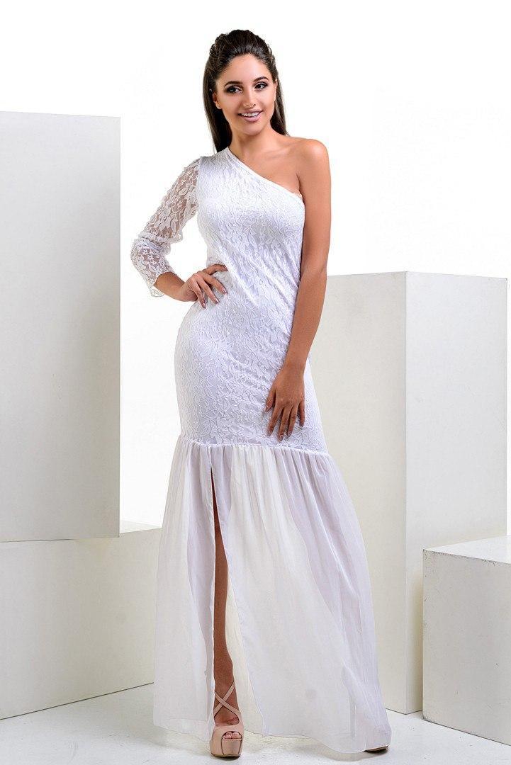 Женское длинное платье с разрезом 42-44р длина 165см - Мелочи жизни  в Одесской области