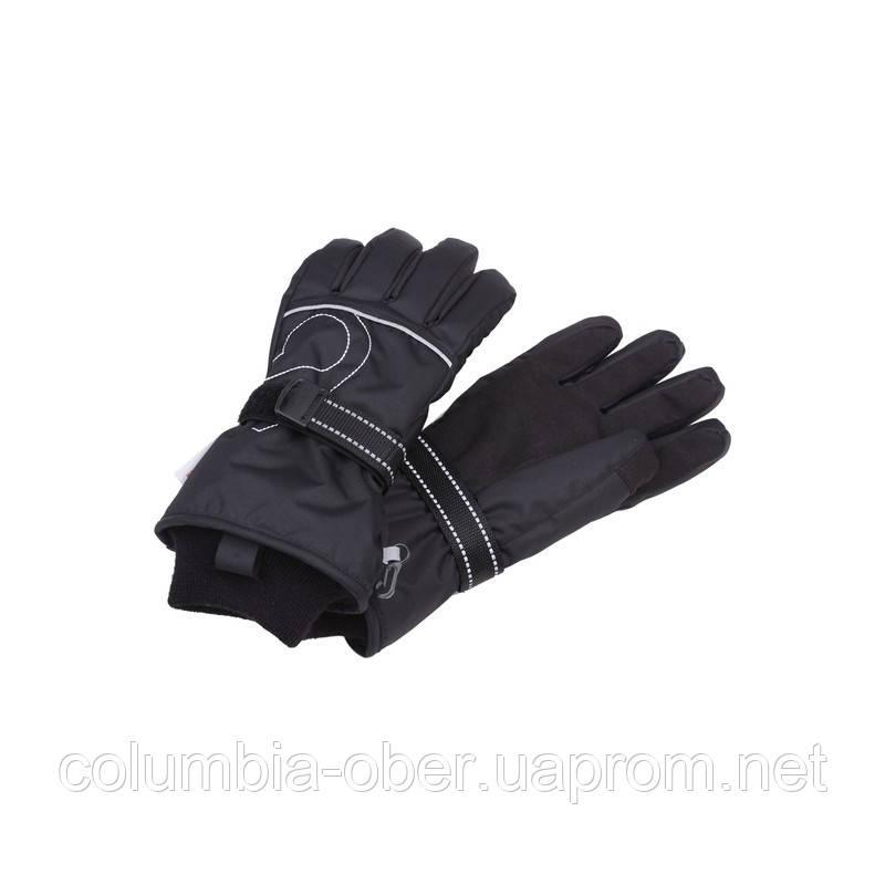 Зимние перчатки для девочки Reima HALDUS 527193-9990. Размеры 6-8.