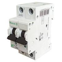 Автоматический выключатель PL6-C20/2 6кА