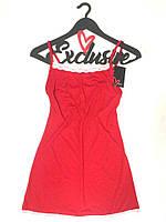 Красный пеньюар с кружевом, одежда для сна и отдыха.