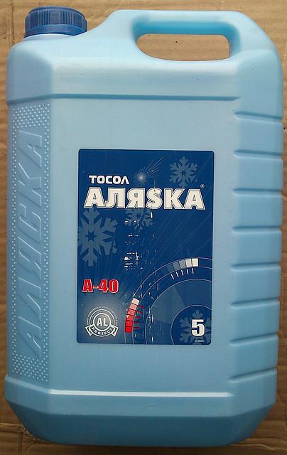 Тосол охлаждающая жидкость Аляска Эко А-40