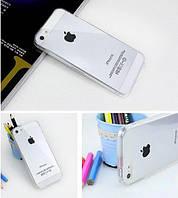 Ультратонкий силиконовый прозрачный чехол для iphone 5/5s