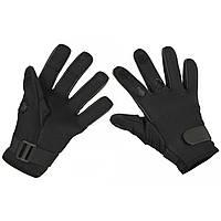"""Стрелковые неопреновые перчатки (с """"откидными пальцами""""). MFH, Германия."""