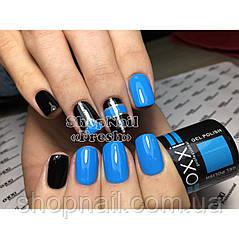Гель-лак OXXI Professional №107 (светлый синий, эмаль), 8 мл, фото 2