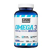 Рыбий жир Омега 3 6 9, Omega 3 6 9 UNS Omega 3 120 caps