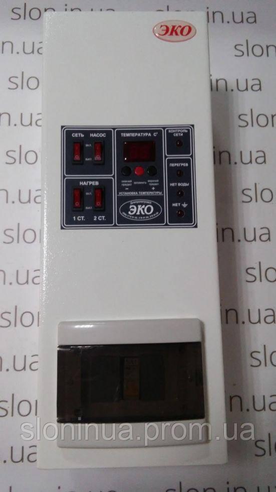 Котел электрический Эко Компакт 4 кВт 380В (8-я комплектация)