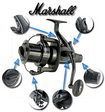 Катушка карповая Carp Zoom Marshall 8000bbc Carp fishing reel, фото 2