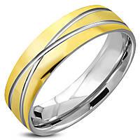 Обручальное кольцо из нержавеющей стали 316