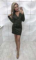 Платье-косуха Macqueen , хаки ! , фото 1