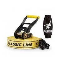 Слэклайн Gibbon Classic line X13 XL 25 m Slackline Set yellow