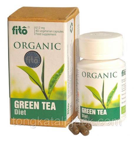 Зеленый чай органический fito, капсулы №40