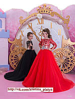 Детское нарядное платье BT-1150 - индивидуальный пошив