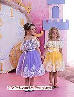 Детское нарядное платье BT-1151 - индивидуальный пошив