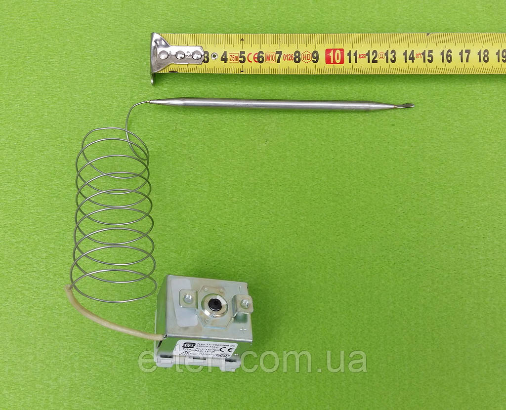 Термостат капиллярный двуполюсный (аварийный,защитный) MMG TC-1SB20PM / 110°С / T120 / 250V Венгрия