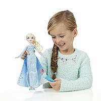 Кукла Эльза Холодное сердце Волшебный плащ Disney Frozen Elsa´s Magical Story cape doll, фото 1