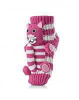 Теплые и яркие детские носочки со зверюшками. Много цветов