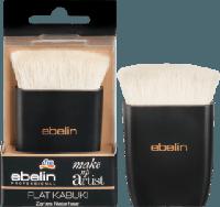 Ebelin Professional Make-up Artist Flat Kabuki - Кисть Кабуки плоская, натуральный ворс, фото 1