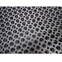 Коврик резиновый сота 60 х 80 х 2,6 см износостойкий., фото 1