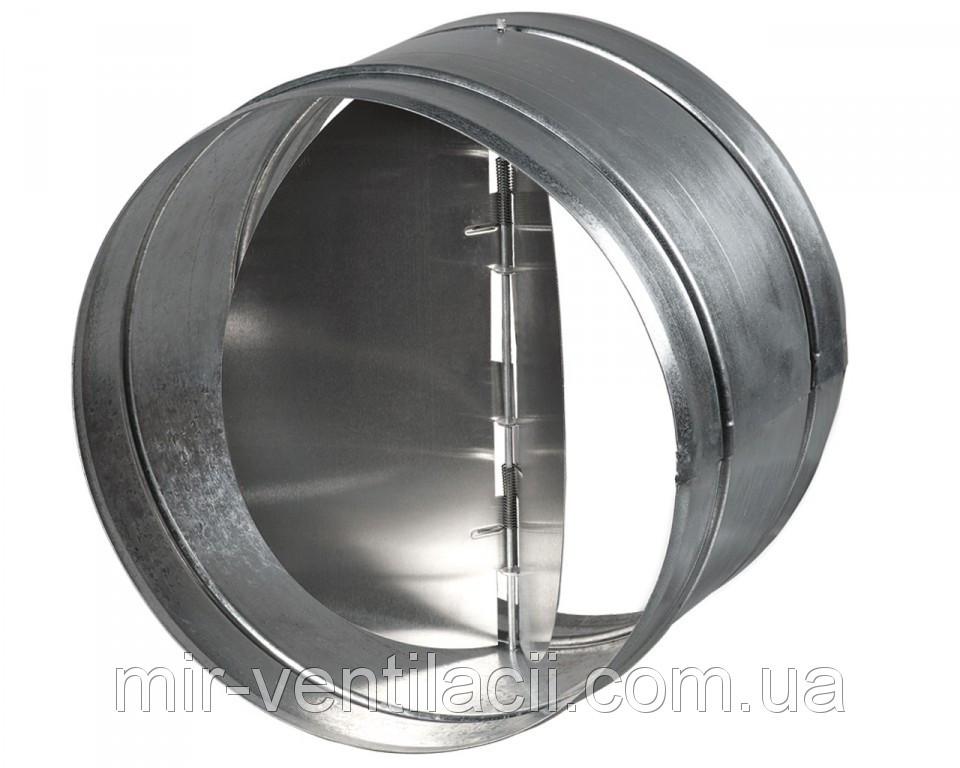 Обратный клапан металлический 120 мм - Мир Вентиляции в Киеве