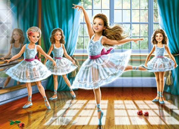 Пазлы Castorland Школа балета, 260 элементов