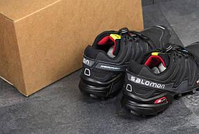 Кроссовки мужские Solomon Speedcross 3 черные с серым 41р, фото 3
