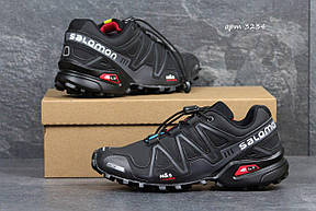 Кроссовки мужские Solomon Speedcross 3 черные с серым 41р, фото 2