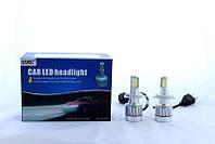 Светодиодные лампы для автомобиля UKC Car Led H4 c цоколем 33W 4500-5000K 3000LM CAR