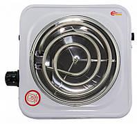 Электрическая плитка Domotec plus HP-100, электроплита спиральная