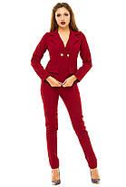 Ж243  Женский брючный костюм  42,44,46,48, фото 2