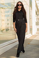 Платье Анка, чёрный (44-50)