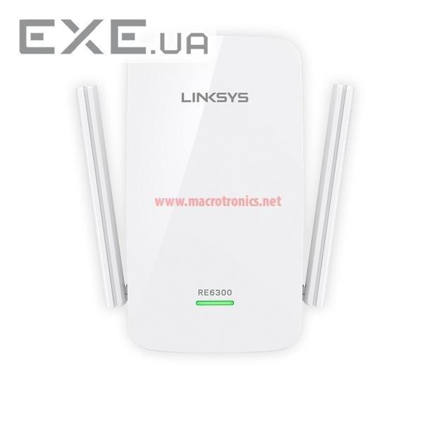 Беспроводной репитер Linksys Range Extender AC750 (RE6300-EU) - EXE.ua by kam.in.ua, Интернет-магазин в Киеве