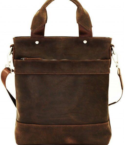 Чоловіча сумка зі шкіри VATTO MK13.6 KR450, коричневий