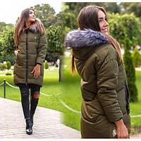 Женское зимнее пальто Клавдия