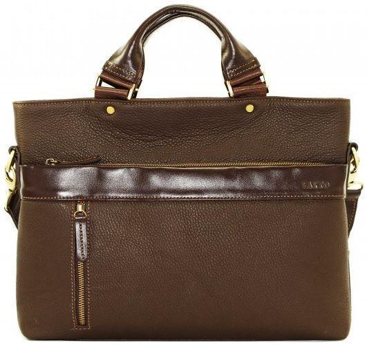 Портфель для мужчин из кожи VATTO MK13.7 F7KAZ400, коричневый