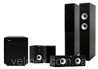 Комплект акустики Jamo 526HCS+Sub260 Black, фото 1