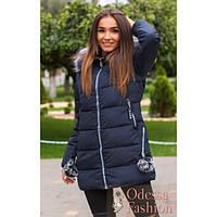 Женское зимнее пальто Брелок мех