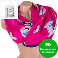 Женский атласный шарф 180 на 71 см ETERNO (ЭТЕРНО) ES1908-14-4