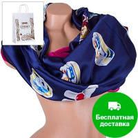 Женский атласный шарф 180 на 70 см ETERNO (ЭТЕРНО) ES1908-14-2