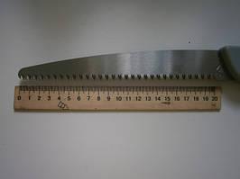 Пила садовая трёхрядная с пластмассовой защитной, складывающейся рукояткой