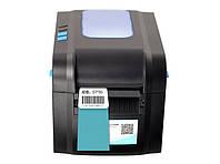 Термопринтеры чеков и этикеток 2в1 Xprinter 370B usb pos принтер для печати чека, ценников, штрих кодов