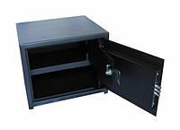 Сейф мебельный СМ-300Т с закрываемым отделением (трейзером)
