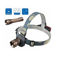 Светодиодный фонарик-трансформер 2в1 Bailong BL-6811 Police 3000W