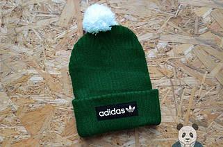 Зимние шапки с бубоном