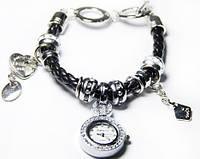 Часы-браслет Pandora (белая, черная), браслеты пандора, часы браслет женские pandora пандора, женские часы