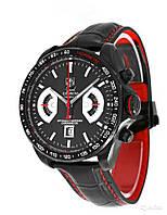 Стильные мужские часы Carrera TAGHEUER, элитные наручные часы, часы мужские, часы tag heuer копия