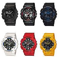 Спортивные часы в стиле Casio GA-100, часы casio shock, мужские часы, женские спортивные часы унисекс