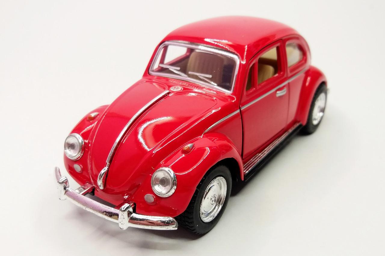 Автомобиль металлический KINSMART Volkswagen Classica Beetle 1967 (KT5057W)