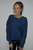 Женская укороченная вязанная кофта  Турция, фото 1