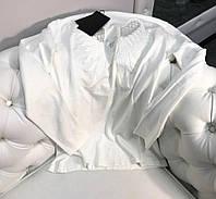 Кофта женская Бренд AMN (свитер) XL Белый Турция